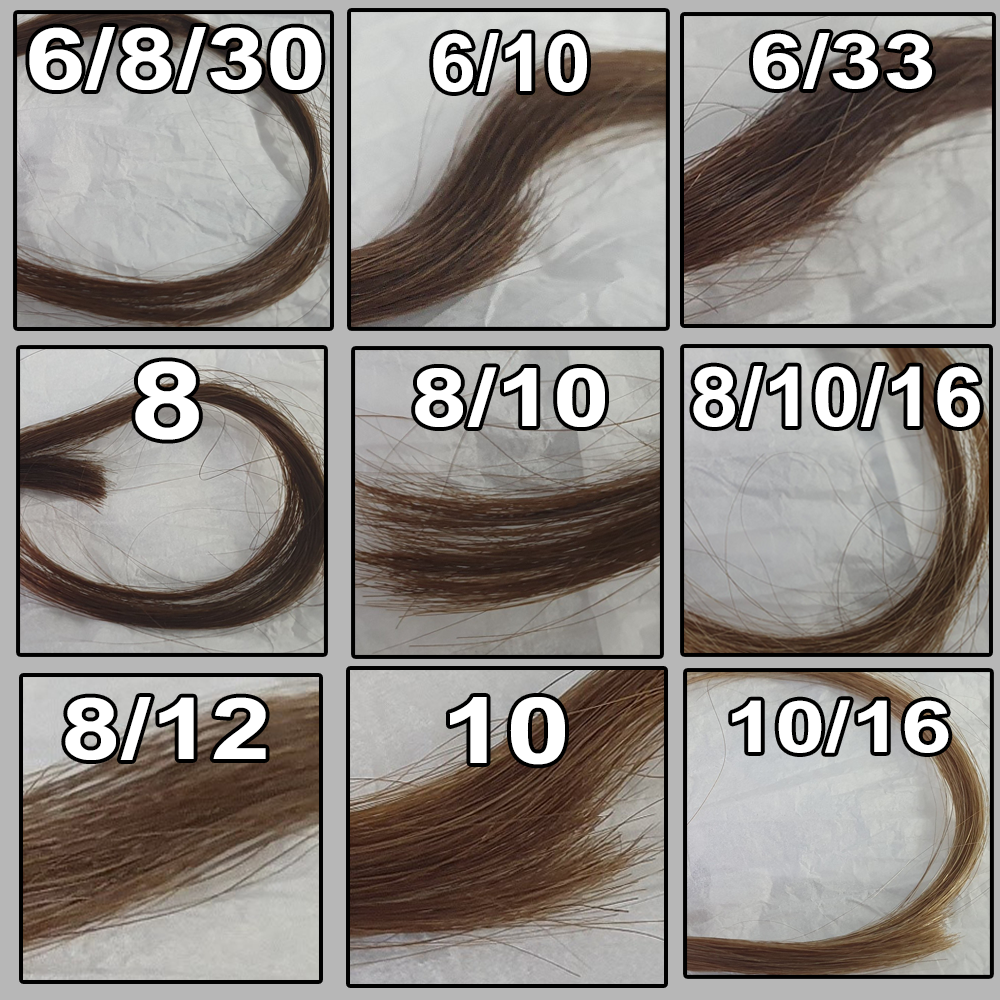 European Hair Swatches 2